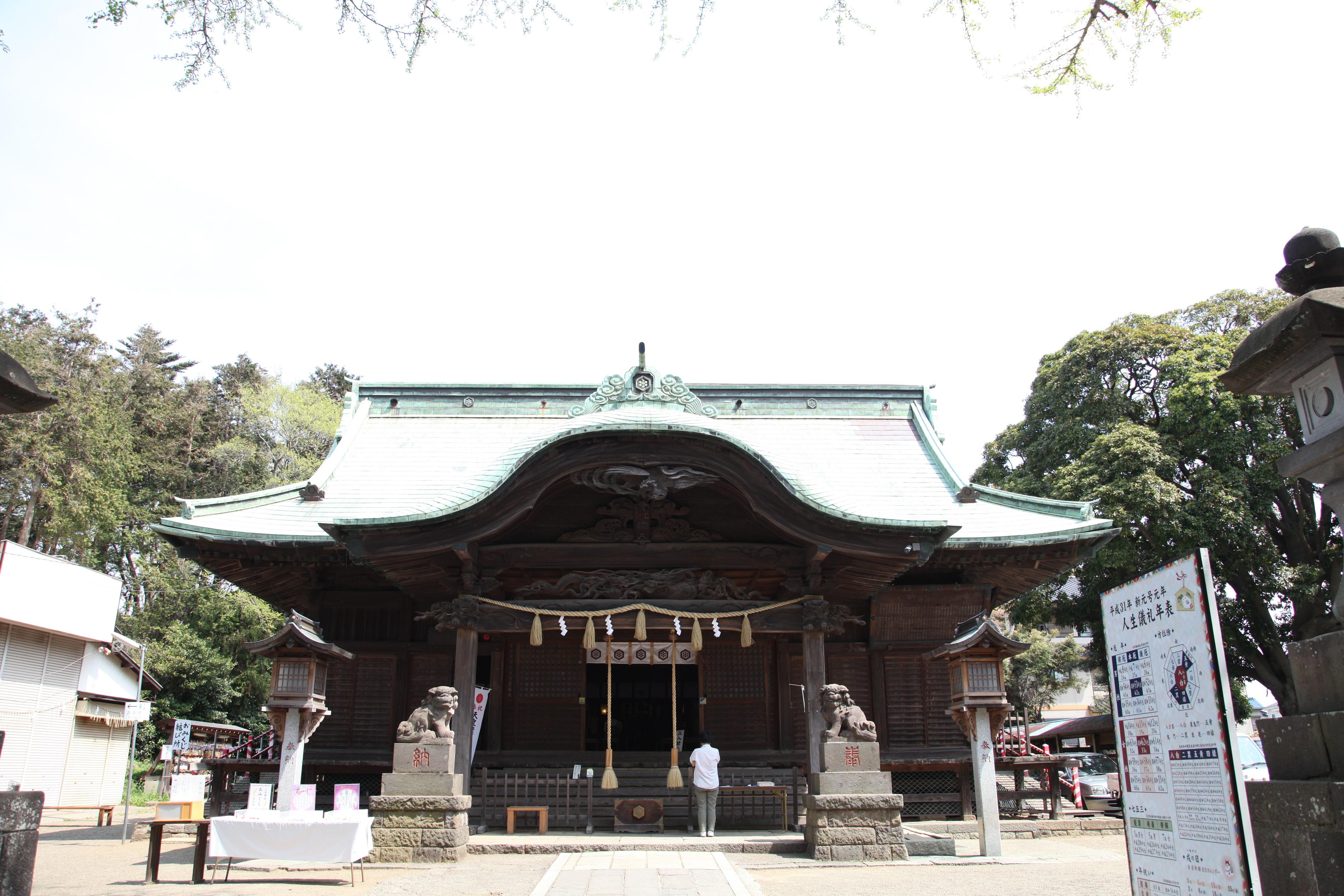 船橋市の二宮神社へお宮参りのロケーション撮影に行ってきました☘